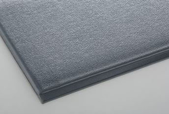 ####u.テラモト 環境美化用品【MR-069-044-5】テラクッション 極厚 グレー 900×1500