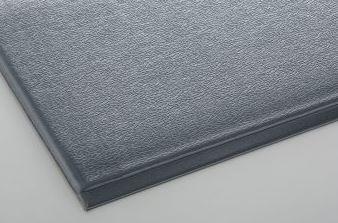 ####u.テラモト 環境美化用品【MR-069-050-5】テラクッション 極厚 グレー 1200×5000