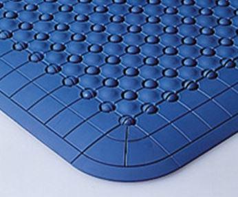 ####u.テラモト 環境美化用品【MR-085-080-3】抗菌フミンゴ(屋内用)ブルー (1平方メートル)