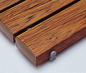####u.テラモト 環境美化用品【MR-093-314-9】抗菌安全スノコ(組立品)木調 400x1800 受注生産