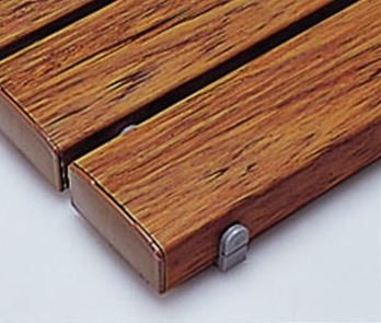####u.テラモト 環境美化用品【MR-093-343-9】抗菌安全スノコ(組立品)木調 600x1200 受注生産