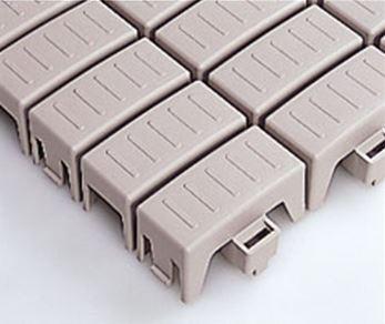 ####u.テラモト 環境美化用品【MR-110-080-6】エコTKブロックスノコ ライトグレー (1平方メートル)