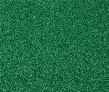 ####u.テラモト 環境美化用品【MR-132-210-1】ゴムチップランナー2 5mm厚 緑 1m×10m
