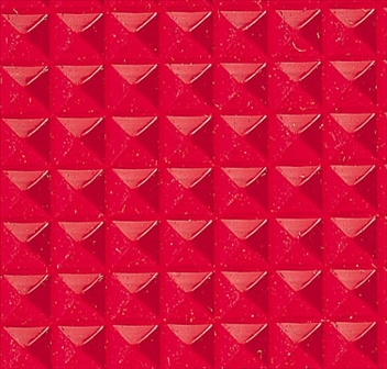 ####u.テラモト 環境美化用品【MR-141-156-2】ビニール長マット ピラ 赤 91cm×20m