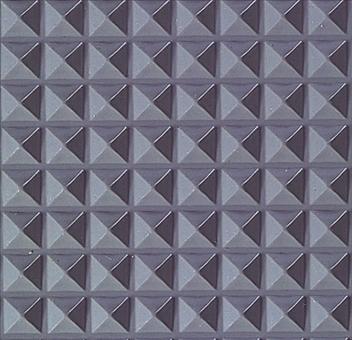 ####u.テラモト 環境美化用品【MR-141-156-5】ビニール長マット ピラ 灰 91cm×20m