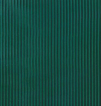 ####u.テラモト 環境美化用品【MR-142-020-1】筋入ゴム 3mm厚 緑 1.2m×20m
