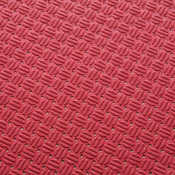 ####u.テラモト 環境美化用品【MR-143-301-2】ダイヤマットAL 赤 92cm×10m