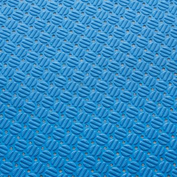 ####u.テラモト 環境美化用品【MR-143-301-3】ダイヤマットAL 青 92cm×10m