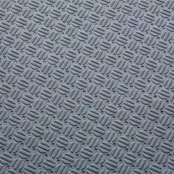 ####u.テラモト 環境美化用品【MR-143-301-6】ダイヤマットAL 灰 92cm×10m