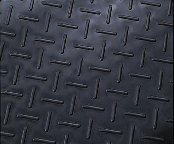 ####u.テラモト 環境美化用品【MR-151-105-7】エスゴムマット 5mm厚 黒 1m×10m
