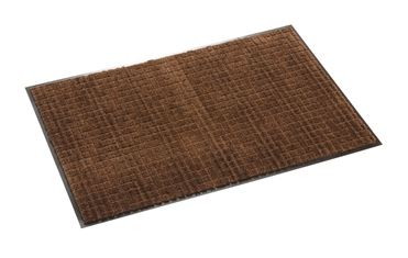 ####u.テラモト 環境美化用品【MR-033-264-4】雨天用マット ネオレイン軽量 ブラウン 90cm巾 (1m) 受注生産