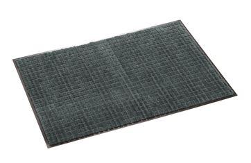 ####u.テラモト 環境美化用品【MR-033-265-5】雨天用マット ネオレイン軽量 グレー 150cm巾 (1m) 受注生産