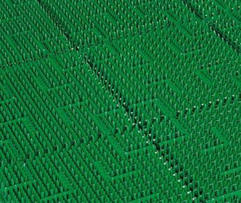 ####u.テラモト 環境美化用品【MR-050-080-7】テラロイヤルマット 若草 (m2)