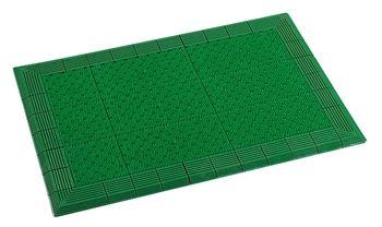 ####u.テラモト 環境美化用品【MR-052-052-1】テラエルボーマット 緑 900×1500