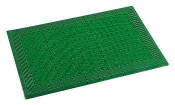 ####u.テラモト 環境美化用品【MR-052-056-1】テラエルボーマット 緑 900×1800
