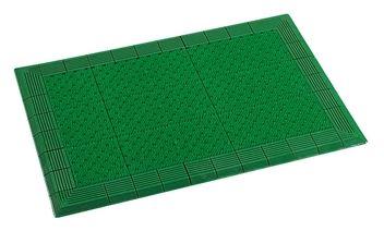 ####u.テラモト 環境美化用品【MR-052-080-1】テラエルボーマット 緑 (1平方メートル)