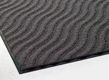 ####u.テラモト 環境美化用品【MR-057-048-5】雨天用マット サンドアート グレー 900×1800