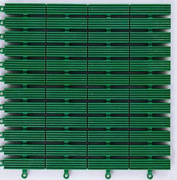 ####u.テラモト 環境美化用品【MR-080-080-1】フリーラインマット 緑 (1平方メートル)