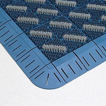 ####u.テラモト 環境美化用品【MR-096-080-3】カラーブラッシュ 青 (1平方メートル)