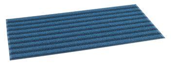 ####u.テラモト 環境美化用品【MR-137-148-9】ケミタングル ストライプM 青/紺 900×1800 受注生産