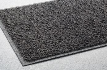 ####u.テラモト 環境美化用品【MR-139-458-5】ケミタングル ソフト2 灰 120cm巾×6m 受注生産