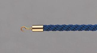 ####u.テラモト 環境美化用品【SU-654-110-3】パーテーションロープ 30AB ブルー