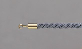 ####u.テラモト 環境美化用品【SU-654-110-7】パーテーションロープ 30AB グレー