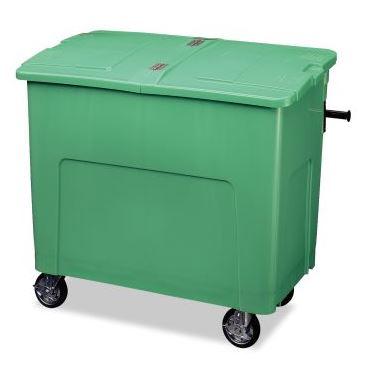 ####u.テラモト 環境美化用品【DS-224-060-1】リサイクルカートアウトバー 0.6(約600L) グリーン
