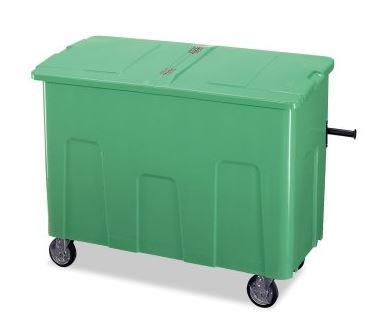 ####u.テラモト 環境美化用品【DS-224-070-1】リサイクルカートアウトバー 0.7(約700L) グリーン