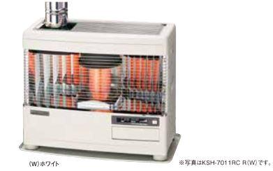 ###サンポット 石油暖房機【KSH-7011RC R】煙突式 Kabec(カベック) 木造18畳 火力スライド調節