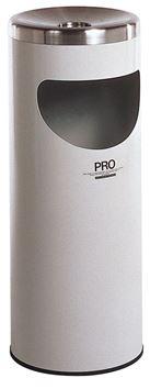 ####u.テラモト 環境美化用品【SS-265-020-5】プロコスモスL 白 中缶なし