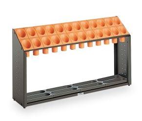 ####u.テラモト 環境美化用品【UB-285-124-7】オブリークアーバン B24 オレンジ