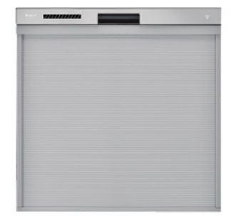 リンナイ 食器洗い乾燥機【RKW-404LP】ステンレス調ハーフミラー 化粧パネル対応 ハイグレード