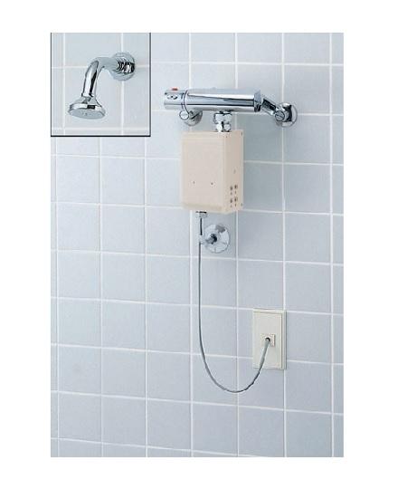 ▽INAX【LF-B58TSM-1】 壁吐水式サーモスタット付自動混合水栓