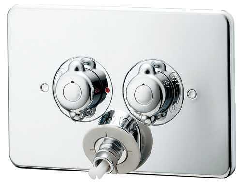 カクダイ【127-103】洗濯機用混合栓(天井配管用)