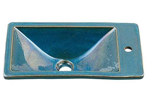 代引き人気 カクダイ【493-010-CB】角型手洗器//孔雀:あいあいショップさくら-DIY・工具