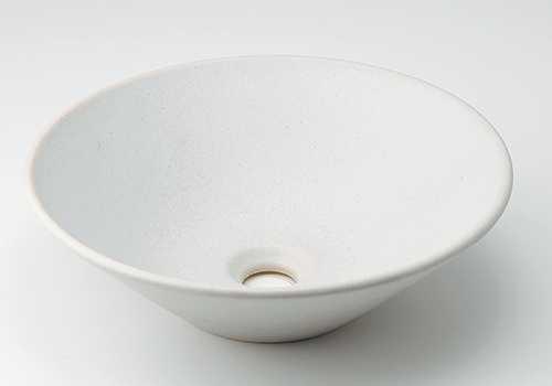 カクダイ【493-037-W】丸型手洗器//月白