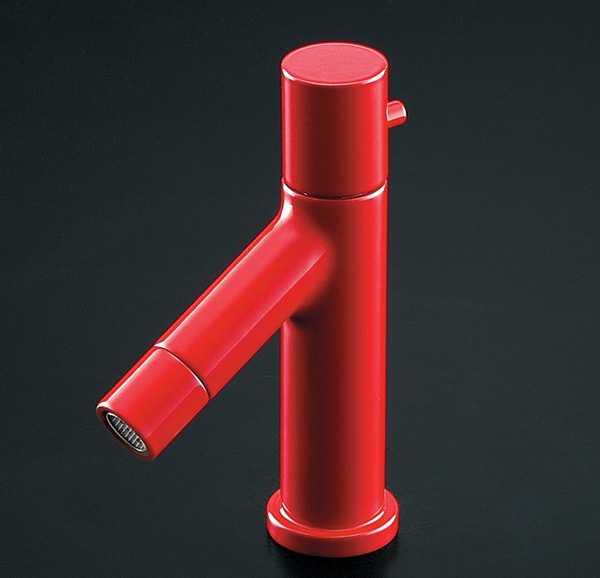 カクダイ【716-827-R】立水栓(インペリアルレッド)