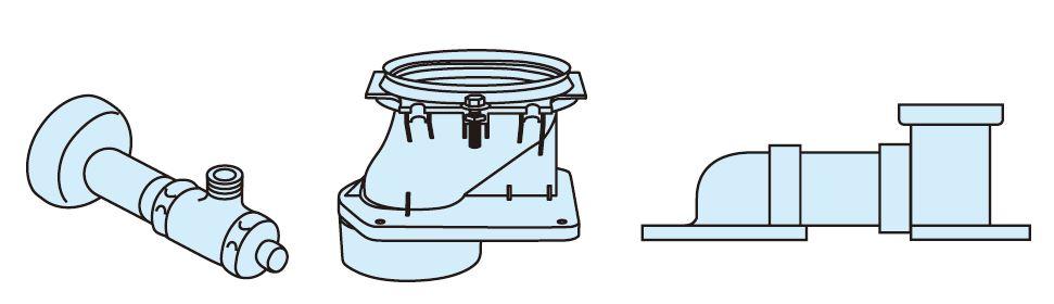 パナソニック 便器 部材【CH150FM】床排水 マルチタイプ 配管セット