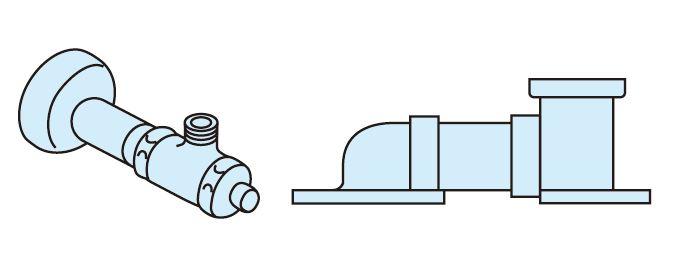 パナソニック 便器 部材【CH150FR】床排水 リフォームタイプ 配管セット