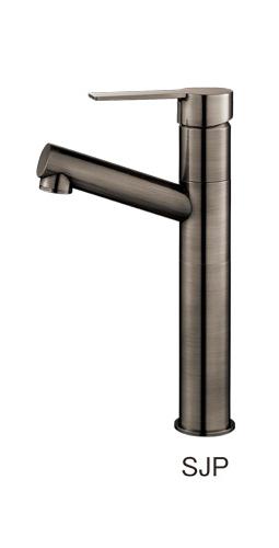 三栄水栓/SANEI【K475NJVZ-2T1-SJP-13】琥珀 シングルワンホール洗面混合栓