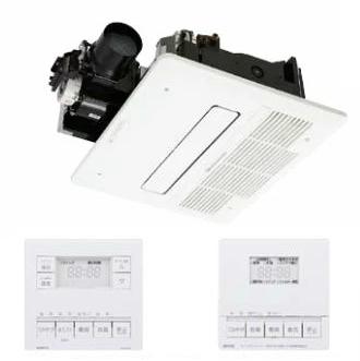 ノーリツ 浴室暖房乾燥機【BDV-M4104AUKNT-J1-BL】1室ミスト機能付(旧品番BDV-M4103AUKNT-J1-BL)