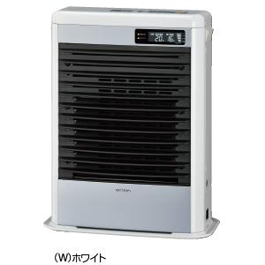 ###コロナ 暖房機器【FF-HG5216S(W)】ホワイト FF式温風ヒーター スペースネオmini温風 木造14畳 コンクリート19畳