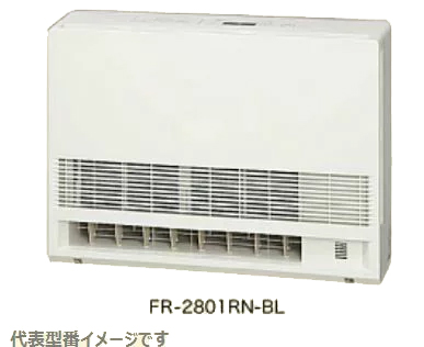 ####ノーリツ 温水暖房放熱器【FR-3601RN-BL】温水ファンコンベクター固定型 木造約10畳程度