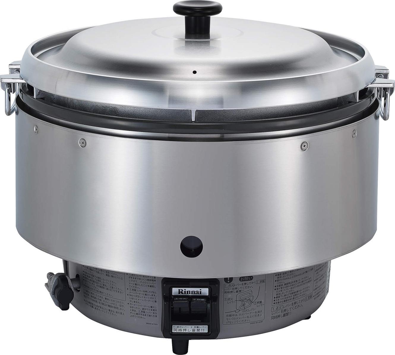 ### リンナイ ガス炊飯器 【RR-50S2】5升 10.0L 卓上型(普及タイプ)(RR50S2)