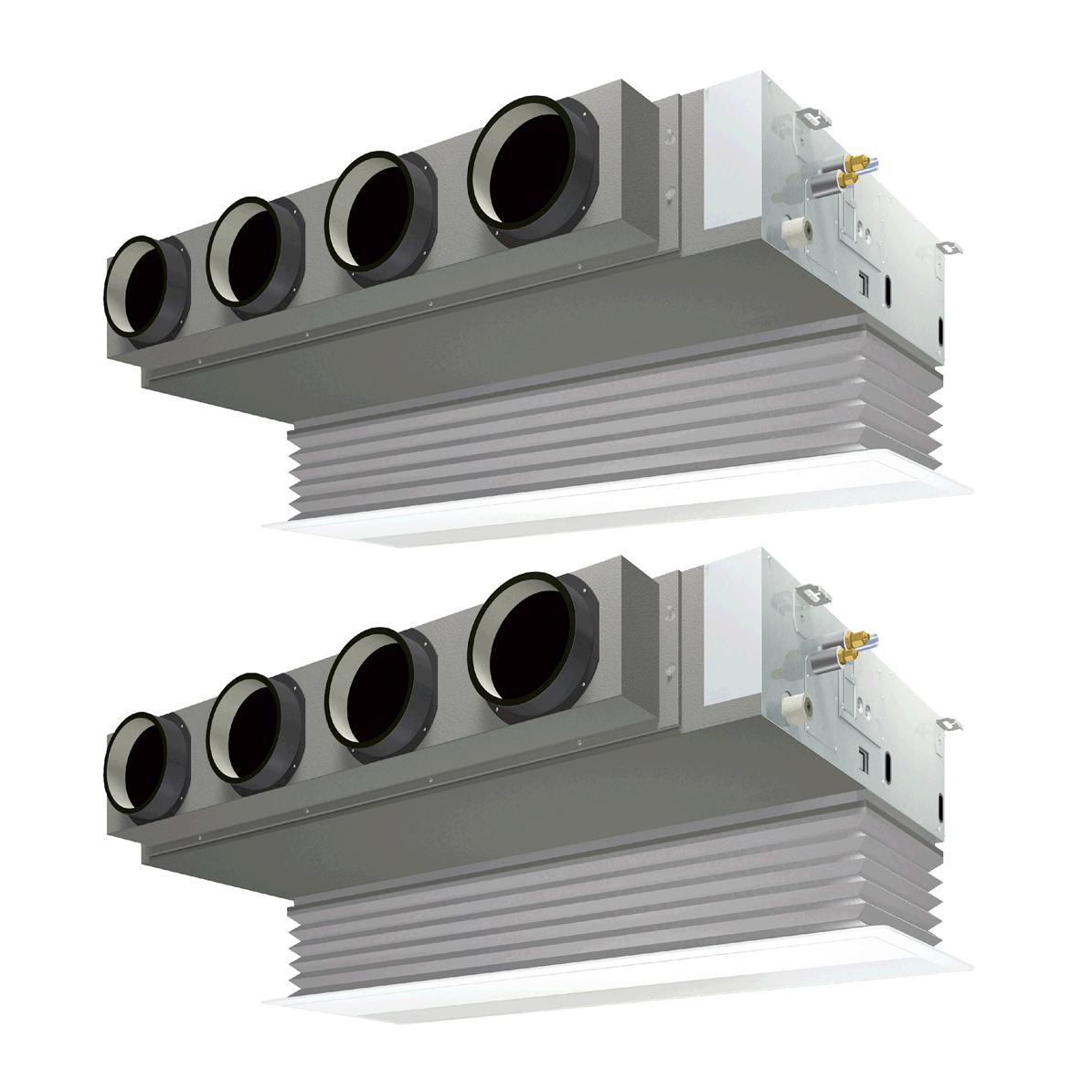 ###ダイキン 業務用エアコン【SZZB280CJD】[分岐管セット]フレッシュホワイト 天井埋込カセット形 ツイン同時 10馬力 ワイヤード 三相200V Eco ZEAS