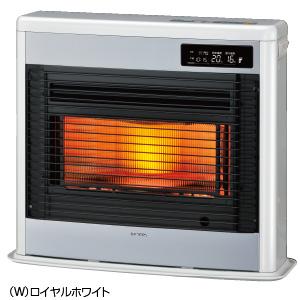 ###コロナ 暖房機器【UH-FSG7018K(W)】ロイヤルホワイト 床暖房内蔵FF式石油暖房機(輻射型) スペースネオ床暖 木造18畳 コンクリート25畳 (旧品番 UH-FSG7017K)