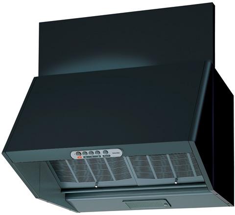 ⌒◆在庫有り!台数限定!東芝 レンジフードファン【VFR-64LJB(K)】カラー:ブラック 深形三分割構造シロッコファンタイプ 基本タイプ 接続ダクトφ150mm 60cm巾 (旧品番 VFR-64VJB(K))