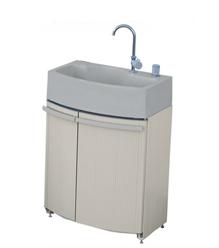 タキロンシーアイ 屋外シンク【306706】腰高収納付き屋外シンク ガーデンドレッサー 単水栓ユニット GDT-2BE ベージュ