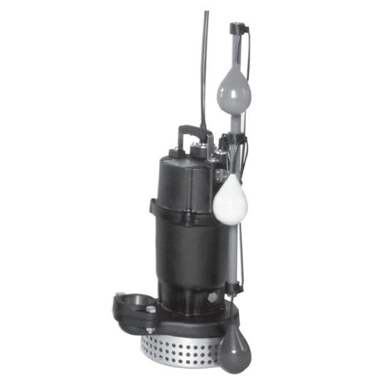 エバラ/荏原【50DSJ6.4】汚水用水中ポンプ DSJ型 自動交互内蔵型 三相 60Hz